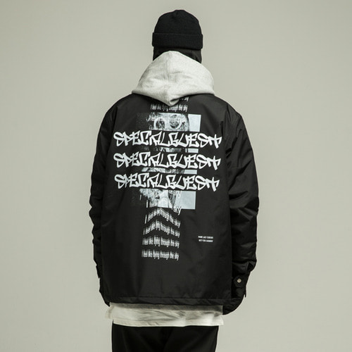 WIZ Warm Coach Jacket BK