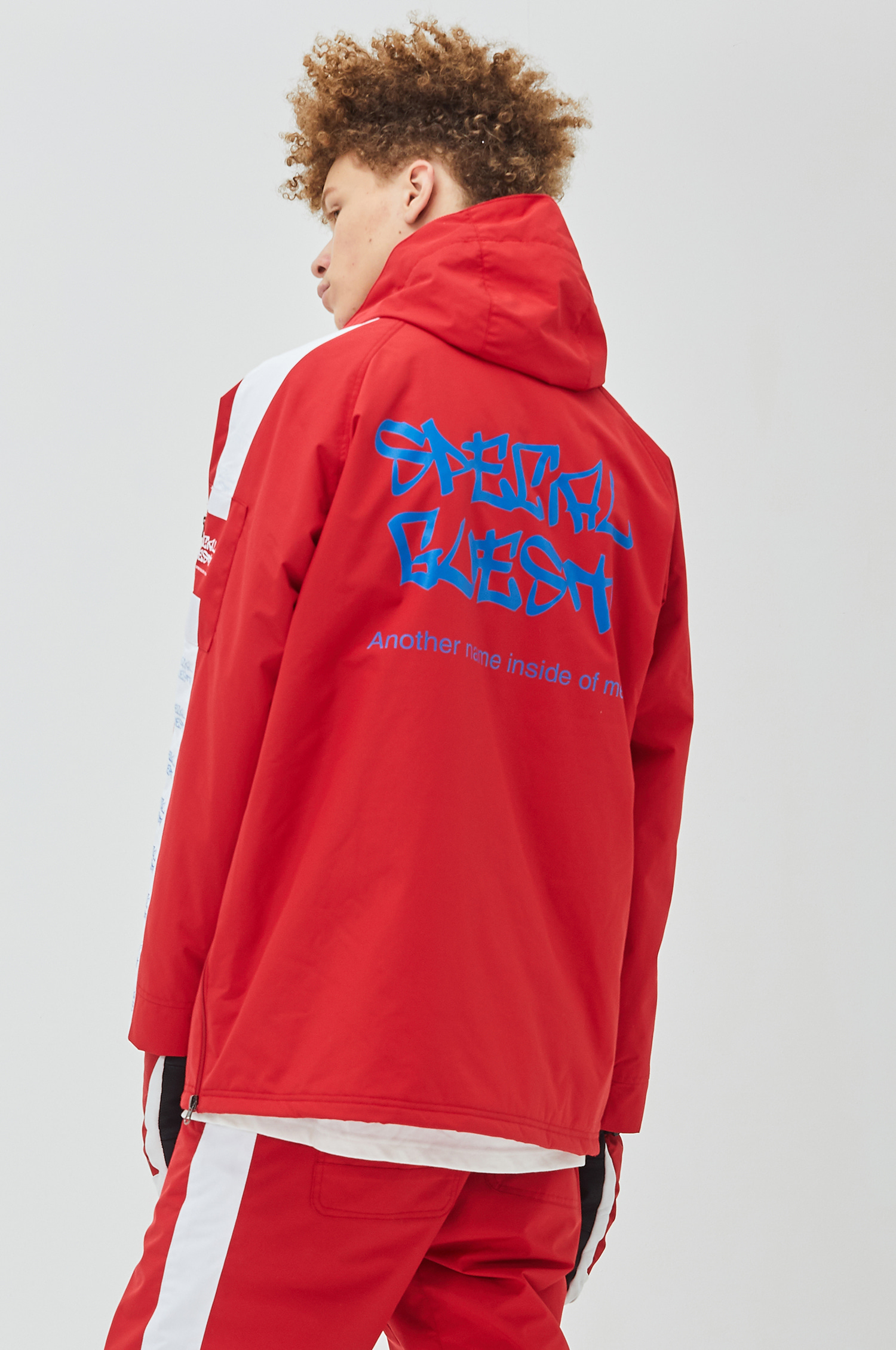 Hooded Anorak Jacket - EQUALZER RW