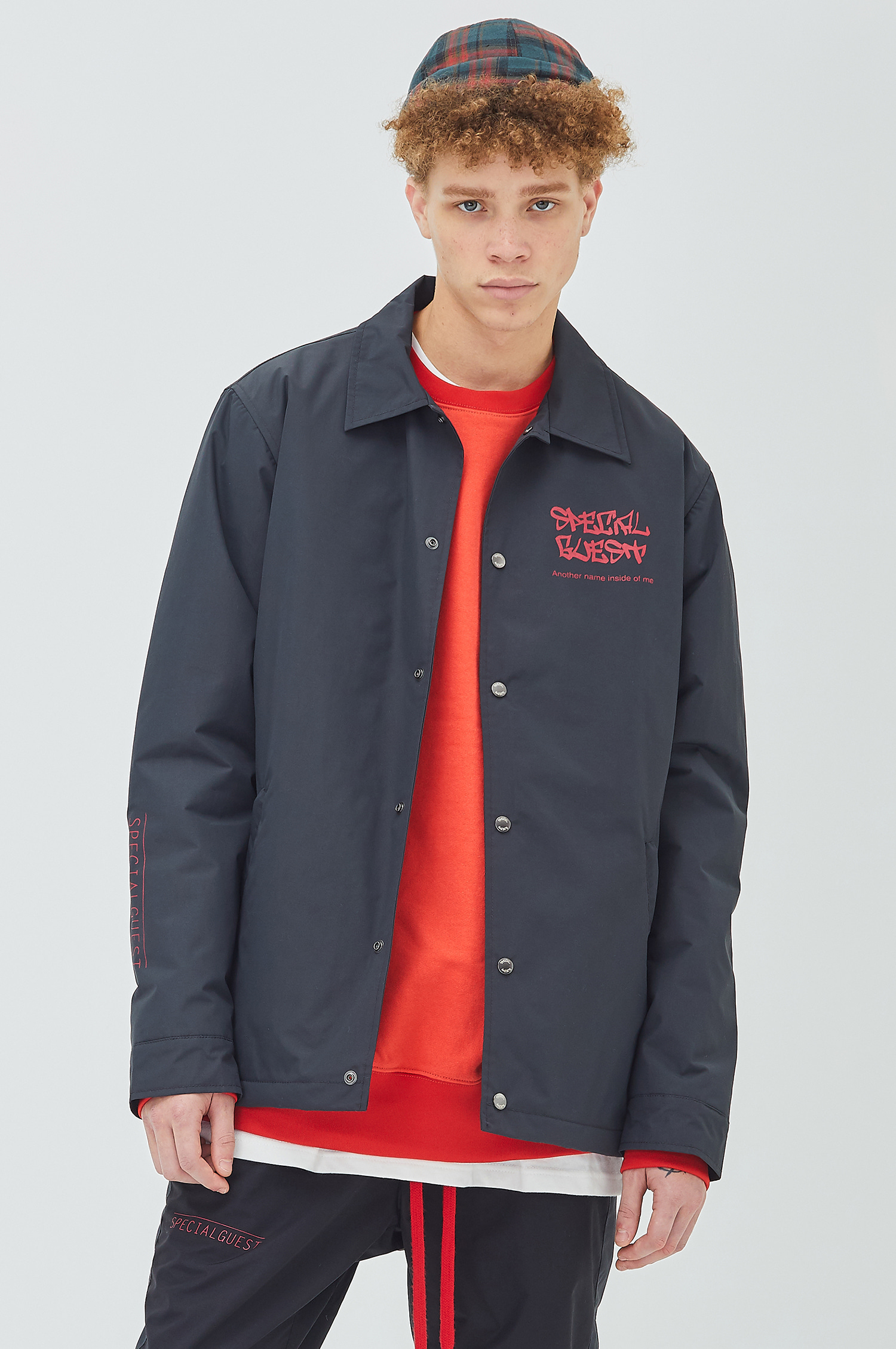 Warm Coach Jacket - FACE DG