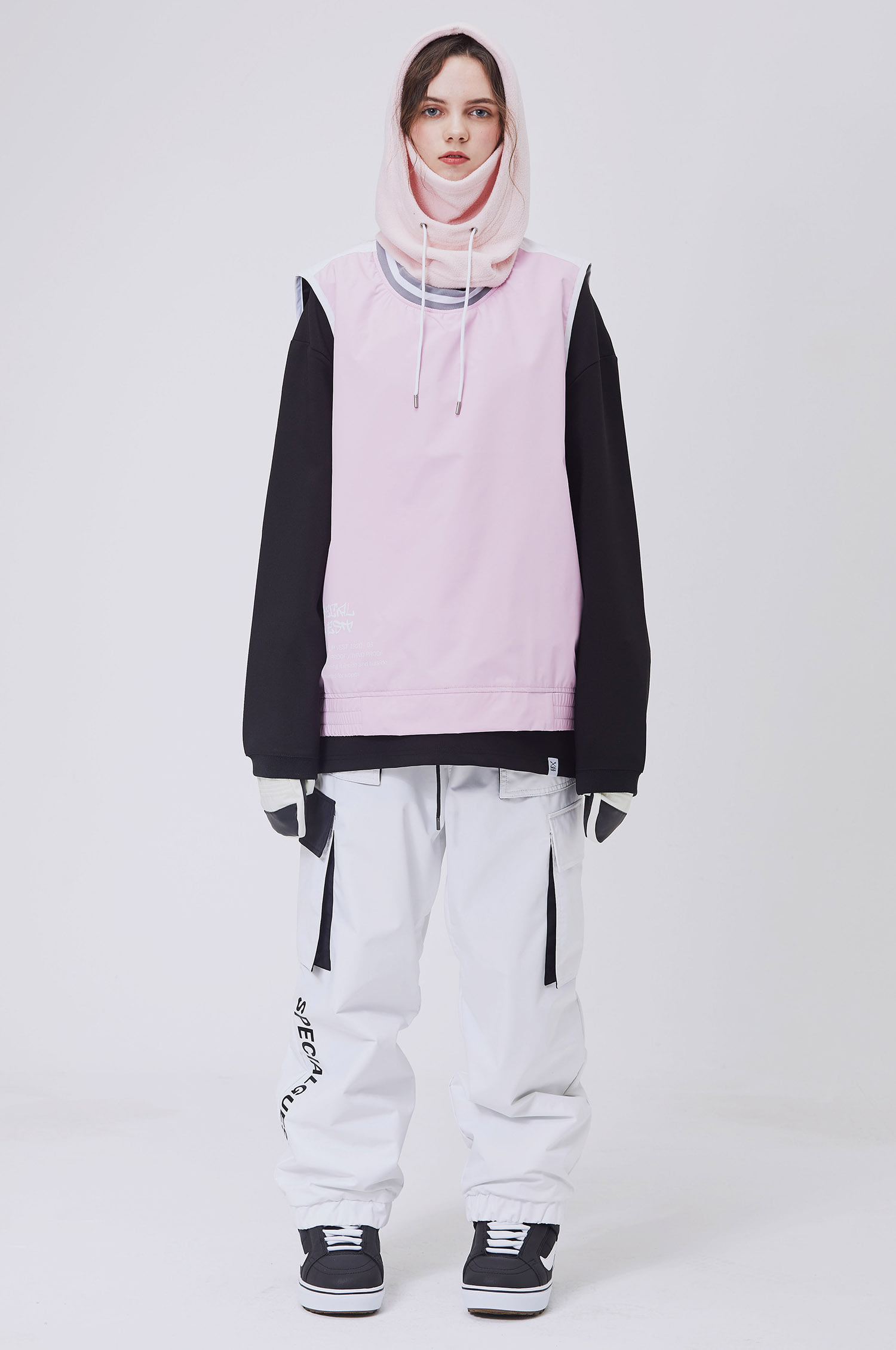 SET S24 WARM UP VEST / BOTTOM