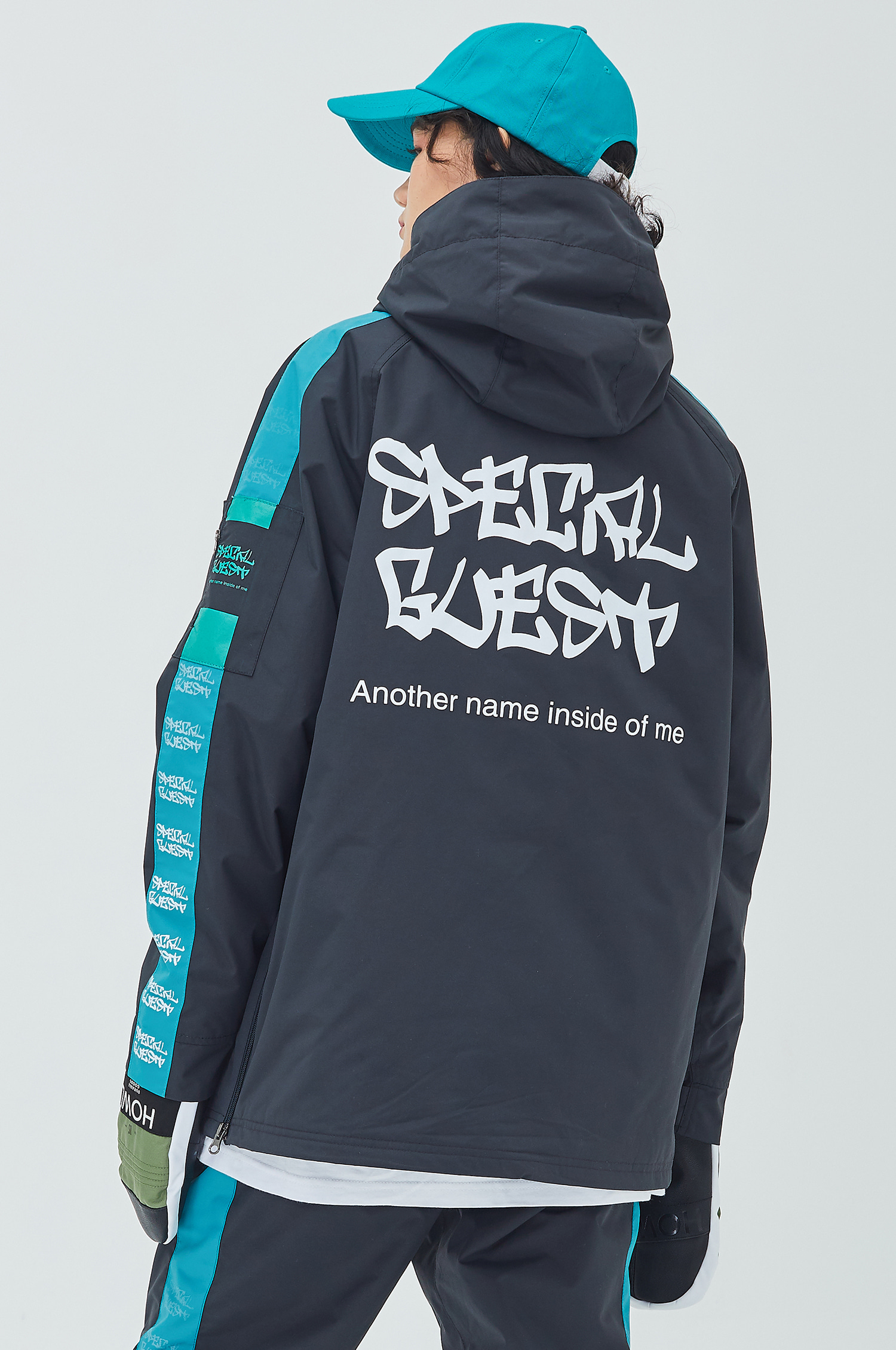 Hooded Anorak Jacket - EQUALZER DGBG