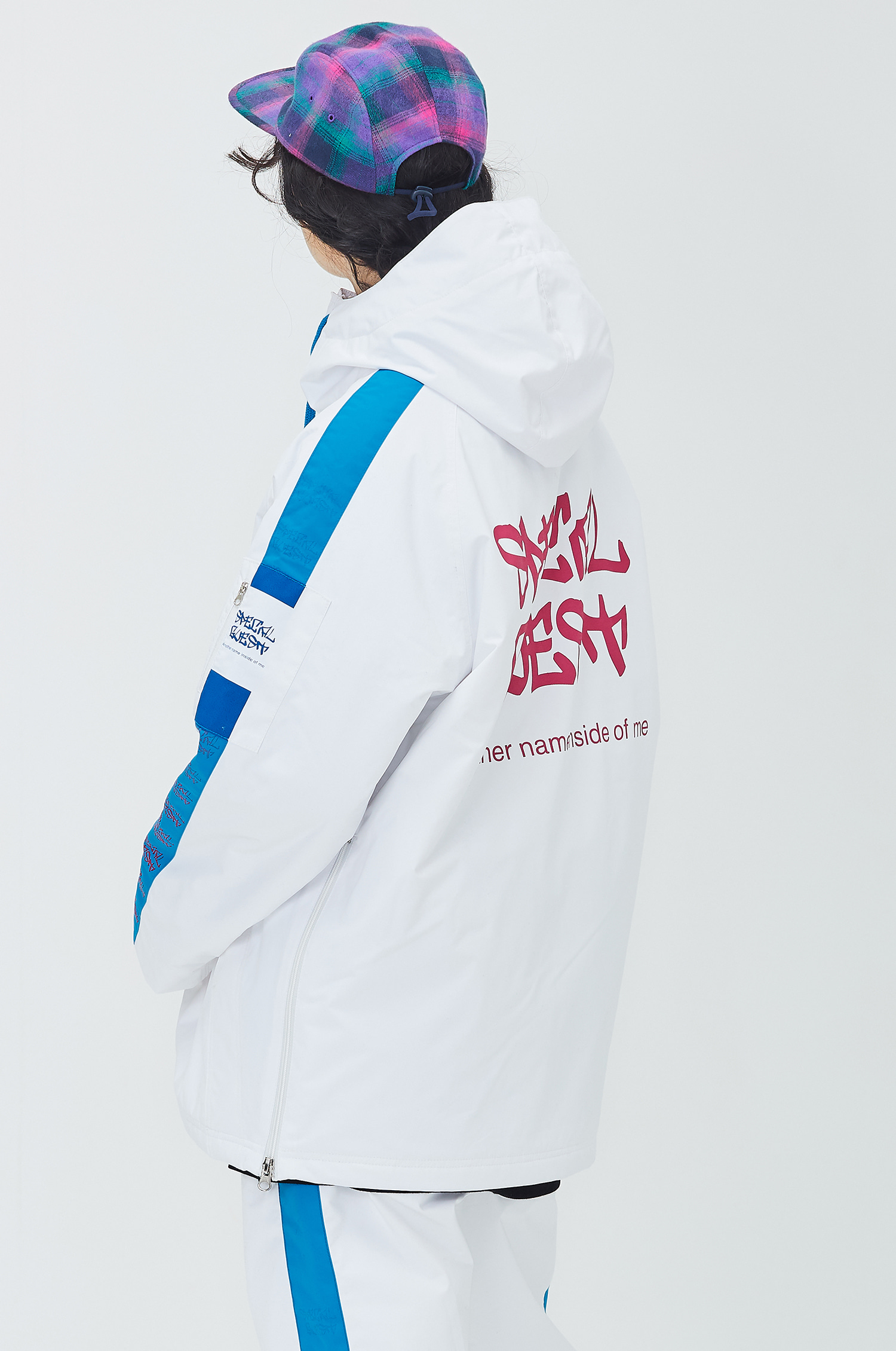 Hooded Anorak Jacket - EQUALZER WB