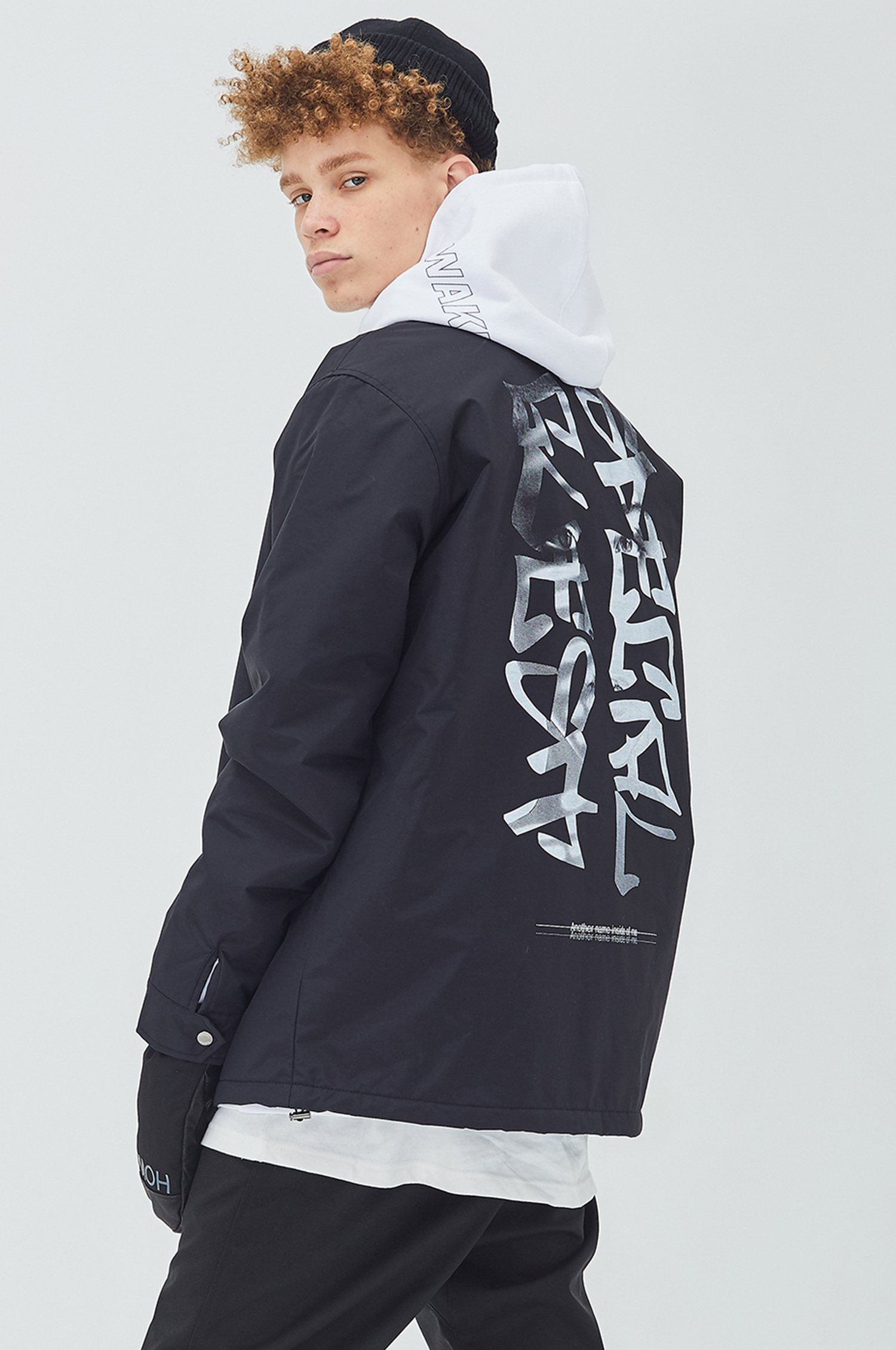 Warm Coach Jacket - FACE BK